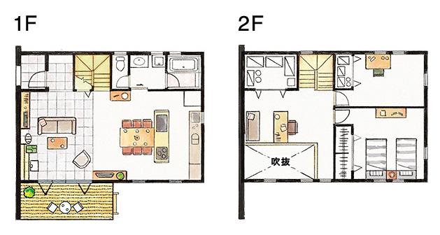 2F2個室プラン