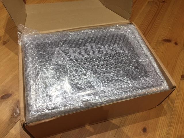 スコットランドからから商品が届きました。