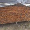 朝から針葉樹薪の束を作る。
