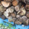 雑木薪を納品する