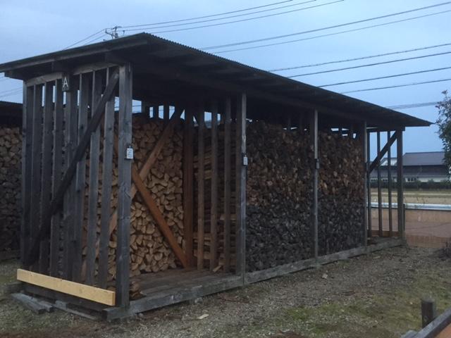 【薪棚】ファイヤーライフ岐阜の薪棚は参考になる