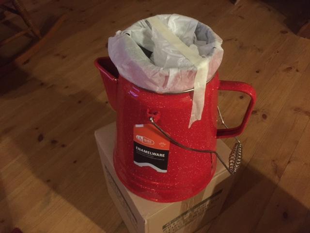 GSI 赤 コーヒーボイラー