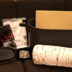 ストーブアクセサリーでは、3万円相当の商品が一万円の福コンテナに! 写真は一例です。