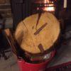 薪ストーブの炉内の火力が足りないときは針葉樹をガッツリ入れる