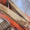 薪の納品時、新しい棚を開けたときは、必ず含水率を調査しています。