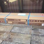 【鉄の薪棚】ファイヤーサイドのログラックが入荷