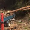 【原木仕入れ】山師から原木を3トンほど購入しました。