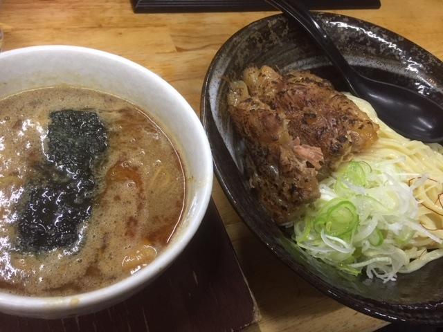 関市 白神本店 つけ麺