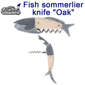 "FISH SOMMELIER KNIFE ""OAK"""