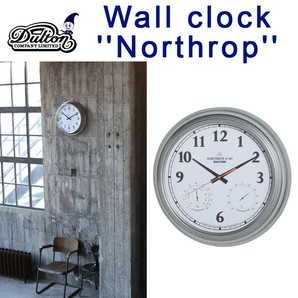 "WALL CLOCK ""NORTHROP G-40"" WD"