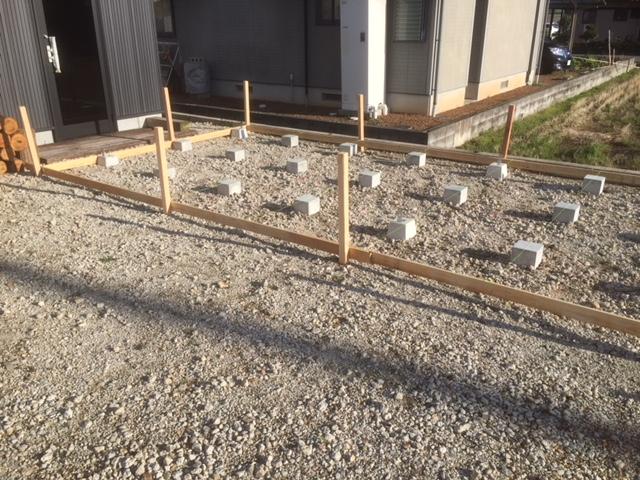 【乾燥薪の質向上】大型薪棚の制作 その2