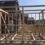 【乾燥薪の質向上】大型薪棚の制作 その3