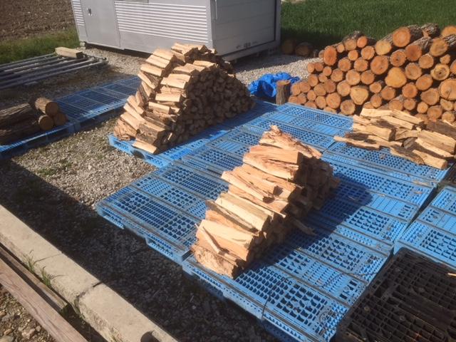 【薪づくり】なんか週末雨とかそんなんばっかりなので、平日朝に薪割り等の作業をしています。