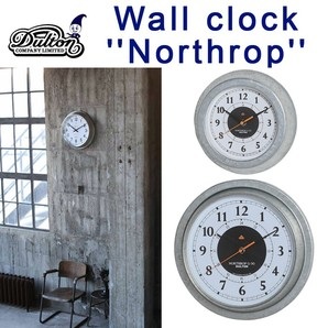 "WALL CLOCK ""NORTHROP"" WD"