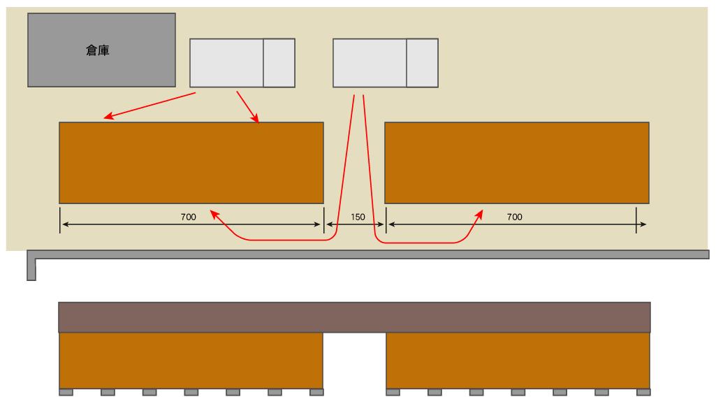 【単管パイプ薪棚】増設用薪棚づくり 其の8(考察)