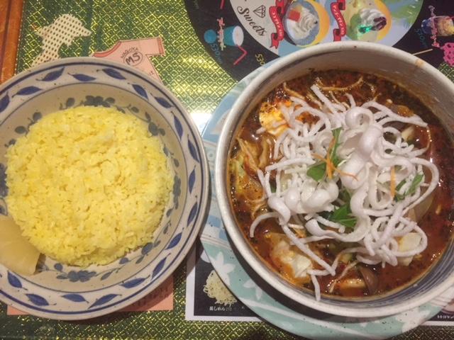 スープカレーのマジックスパイス名古屋店にいってきました。