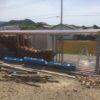 【単管パイプ薪棚】増設用薪棚づくり 其の13