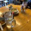 年数回の誕生日会を開催。餃子の岐州に並んで大ハマりした。