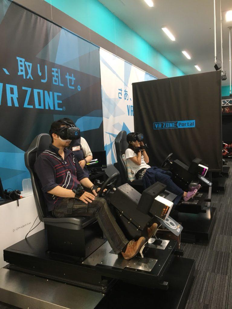 【VRゲーム】各務原イオンのナムコで、VRのマリオカートをしてみた。