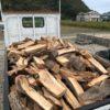 朝6時から選木薪2立米の納品