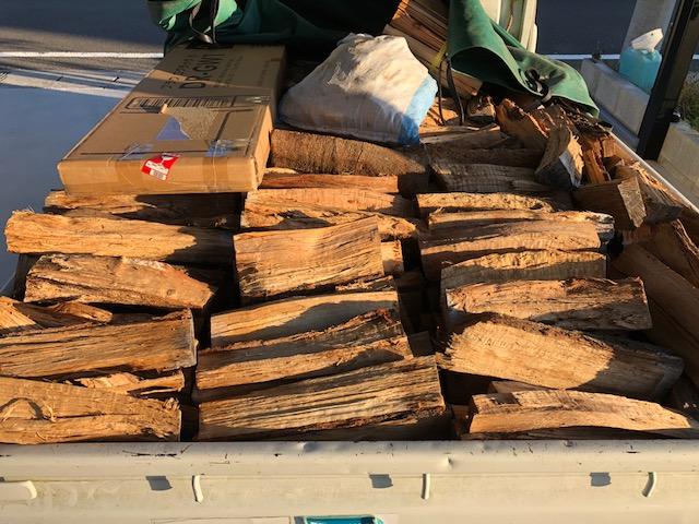 2018ワンダーオーナーに薪の納品に行ってきた。