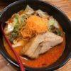 今年のラーメン初め。麺'sショップの「スパイシー太肉」14辛