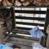 自宅薪棚の使い勝手が悪かったところを改善