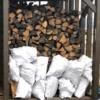 調整していた選木薪の販売再開
