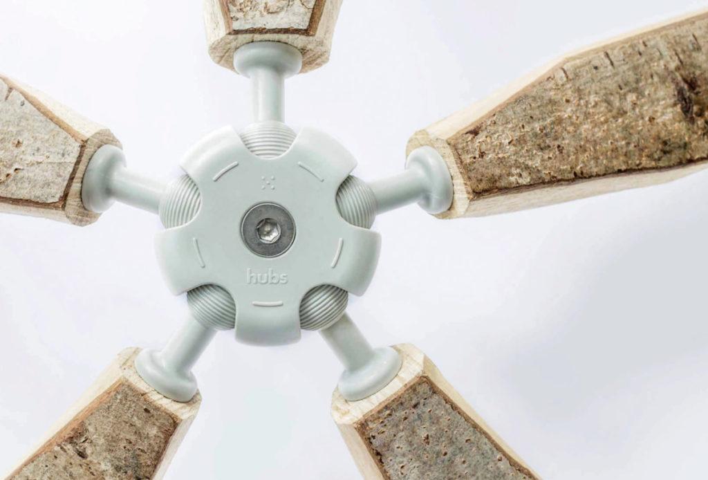 へー、こんなドームもあるのか。DIYで作るドーム「HUBSドーム」