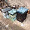 山師に養蜂の箱を差し上げる+カシを購入