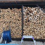 薪を積んで棚を埋める埋める