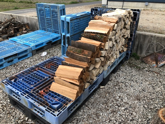 ちなみにトラックシート棚は、もう1つは雑木用のができていましてこんなかんじ。