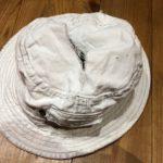 作業用帽子を新調!