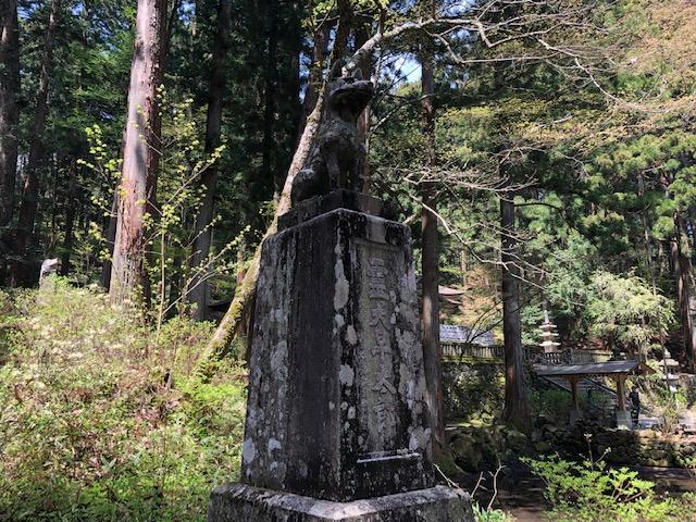 ゆるキャン△でも有名な駒ヶ根の光前寺。  行ってきました。  っていうか  BESS駒ヶ根からめっちゃ近い。