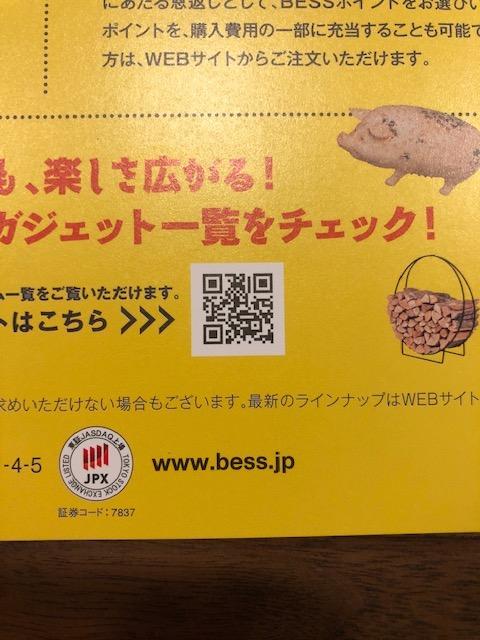 BESSのガジェットカタログが無くなった件ですが  BESSに行くと、チラシがもらえます。