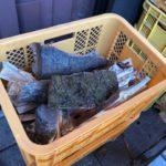 焚火用の薪