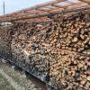 薪がなだれているわかりやすーい写真がとれました。