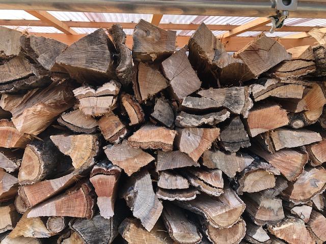 納品した薪についての意見をいただきました。