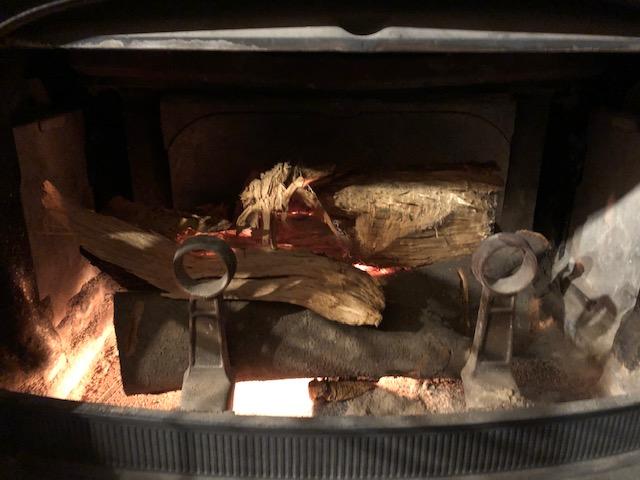 2019年度シーズンスタート。 で、焚く。