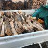 【クレーム対応】太い薪の交換